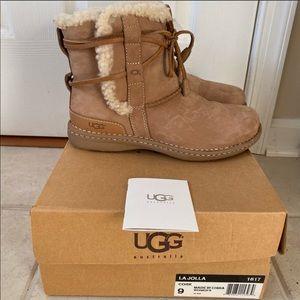 UGG lo jolla fleece boots